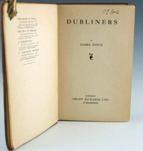 First edition of James Joyce's Dubliners