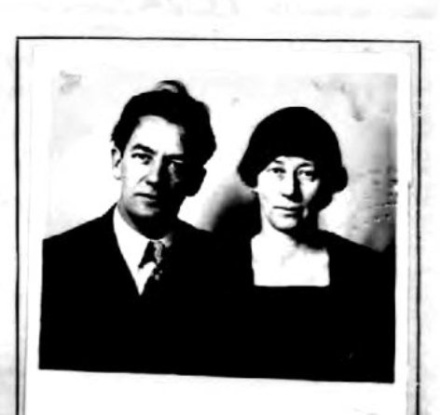 Sherwood anderson and wife